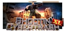 لعبة ندمير الاليات المقاتلة Shootin' Cybertrash XL اون لاين